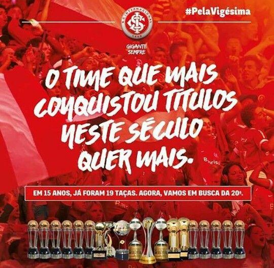 Maior Vencedor Do Seculo Xxi Internacional Futebol Clube Sport