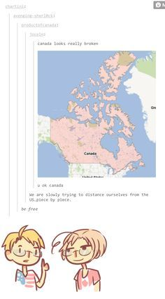 Canada funny tumblr broken anime mostly hetalia pinterest canada funny tumblr broken gumiabroncs Gallery