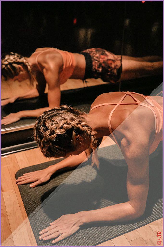 Meine PWR-Programmerfahrung wie ich Muskeln gewonnen habe Barfu blondine Amber Fillerup  Yoga 038 Fi...
