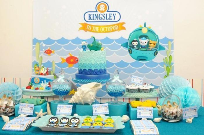 Octonauts Themed Birthday Party with Lots of Great Ideas via Karas