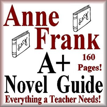 anne frank the diary of a young girl novel study print paperless rh pinterest ie Diary of Anne Frank Play Anne Frank Diary