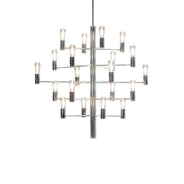 Manola chandelier 20 chrome bright 1 2 3 hngande taklampor manola chandelier 20 chrome bright 1 2 3 aloadofball Choice Image