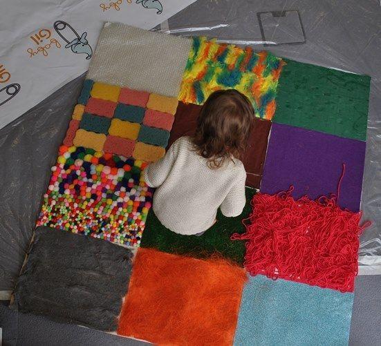 Tapete De Texturas Estimulación Temprana Texturas Para Niños Estimulacion Multisensorial