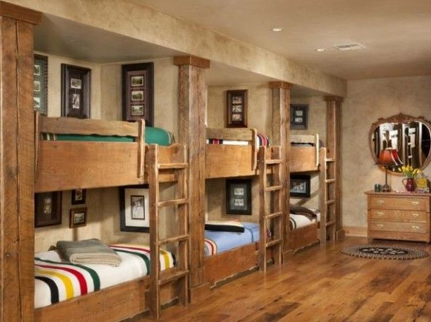 Lodge Style Bedroom Furniture: Top 19 Most Coolest Bunk Bed Design Ideas
