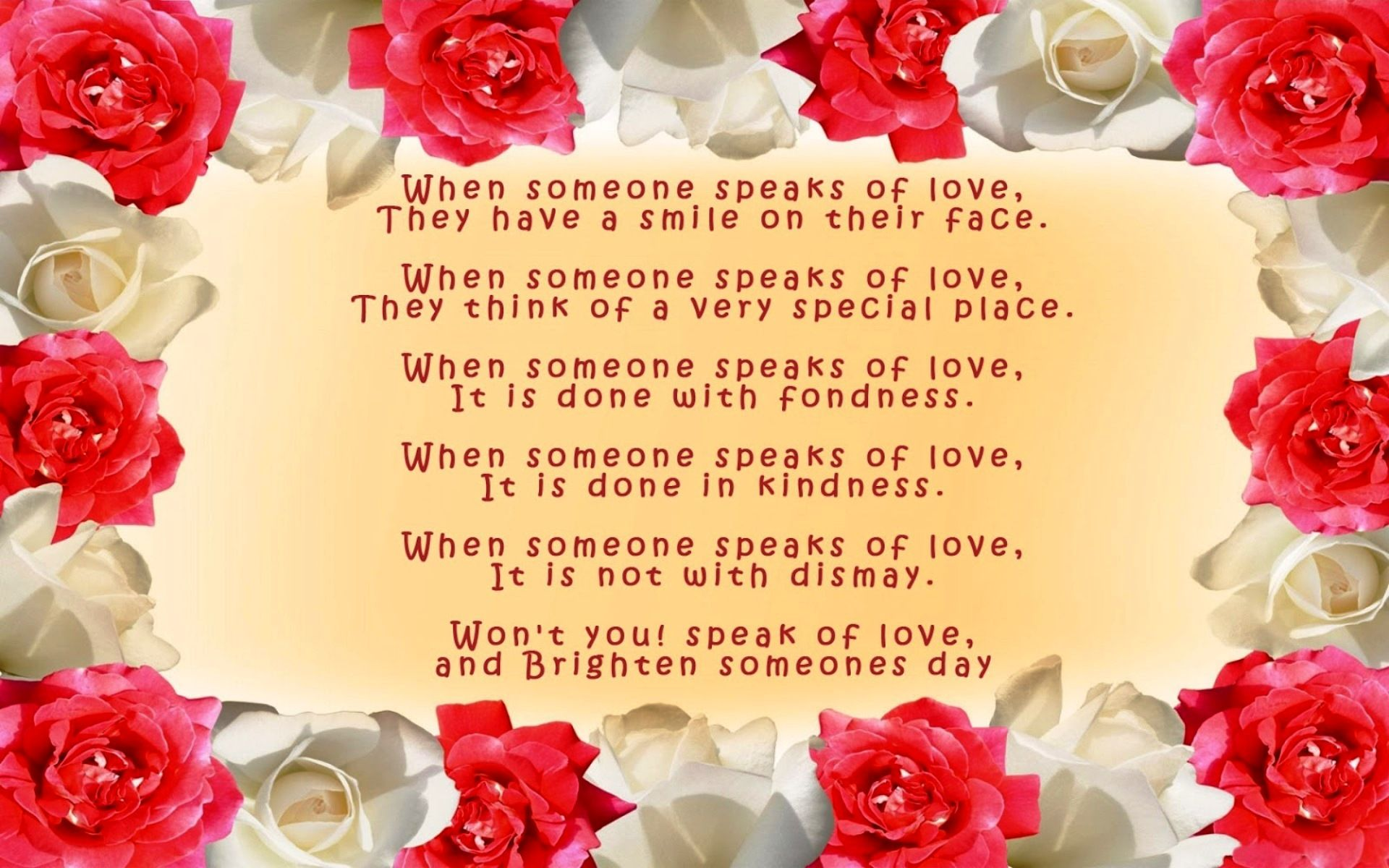 Free Love Poems And Quotes Free Download Love Poem Roses Wallpaper  Love Poem Roses