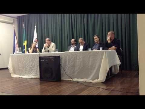 Palestra do Prof. Francisco Aurélio Ribeiro sobre o Donatário Vasco Fern...