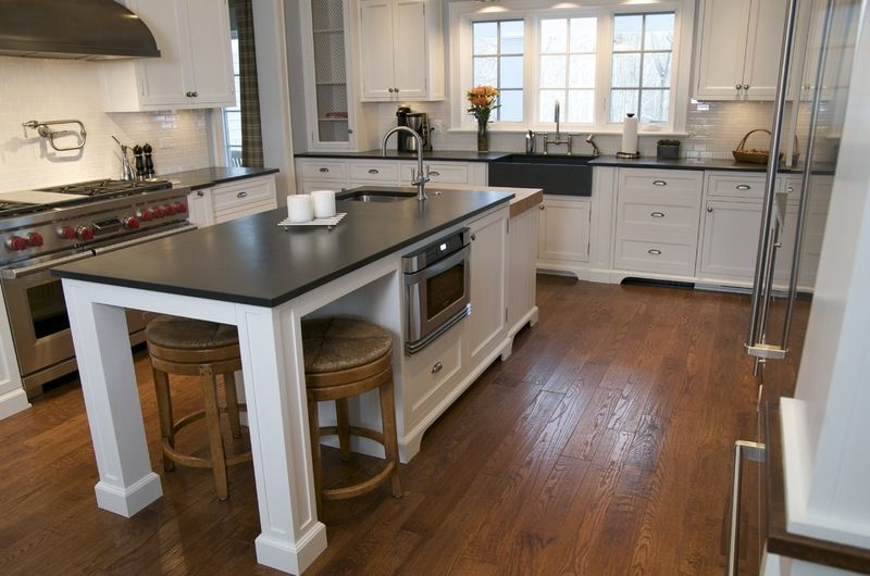Slate Countertops Black Is A Popular Color Choice For Slate Pros