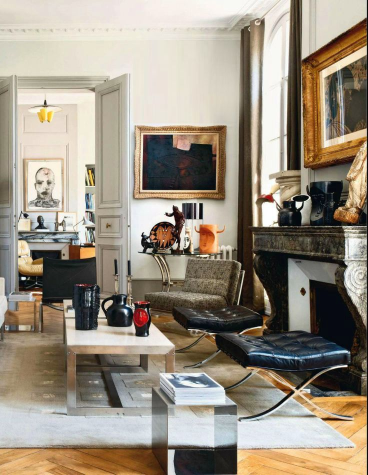 Beautiful Eclectic Living Room By Axel