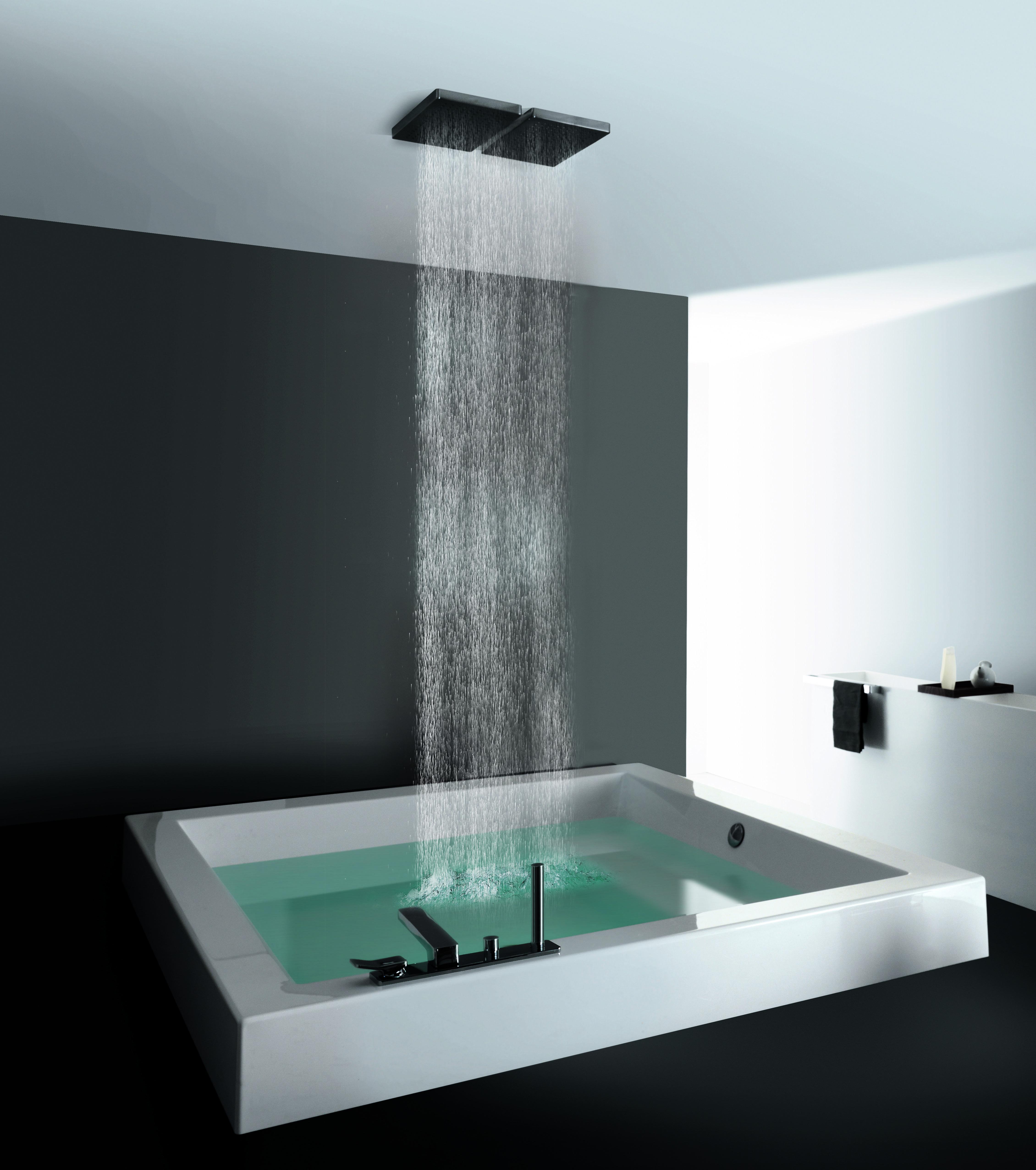 Zucchetti Kos Luxus Badewanne Badezimmer Design Regendusche