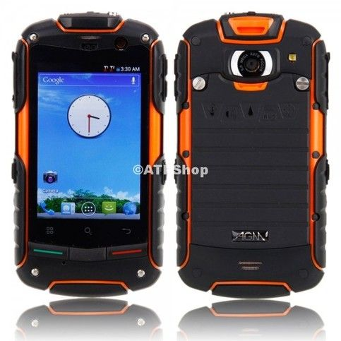 This ultra-durable cell phone internal hardened magnesium frame and solid casing that repels rain, dust, and blunt force, powerful multimedia , tight security features, and the equipped battery is fast recharging and long lasting.  Features Waterproof, dust proof, drop-resistant Lightweight, c...