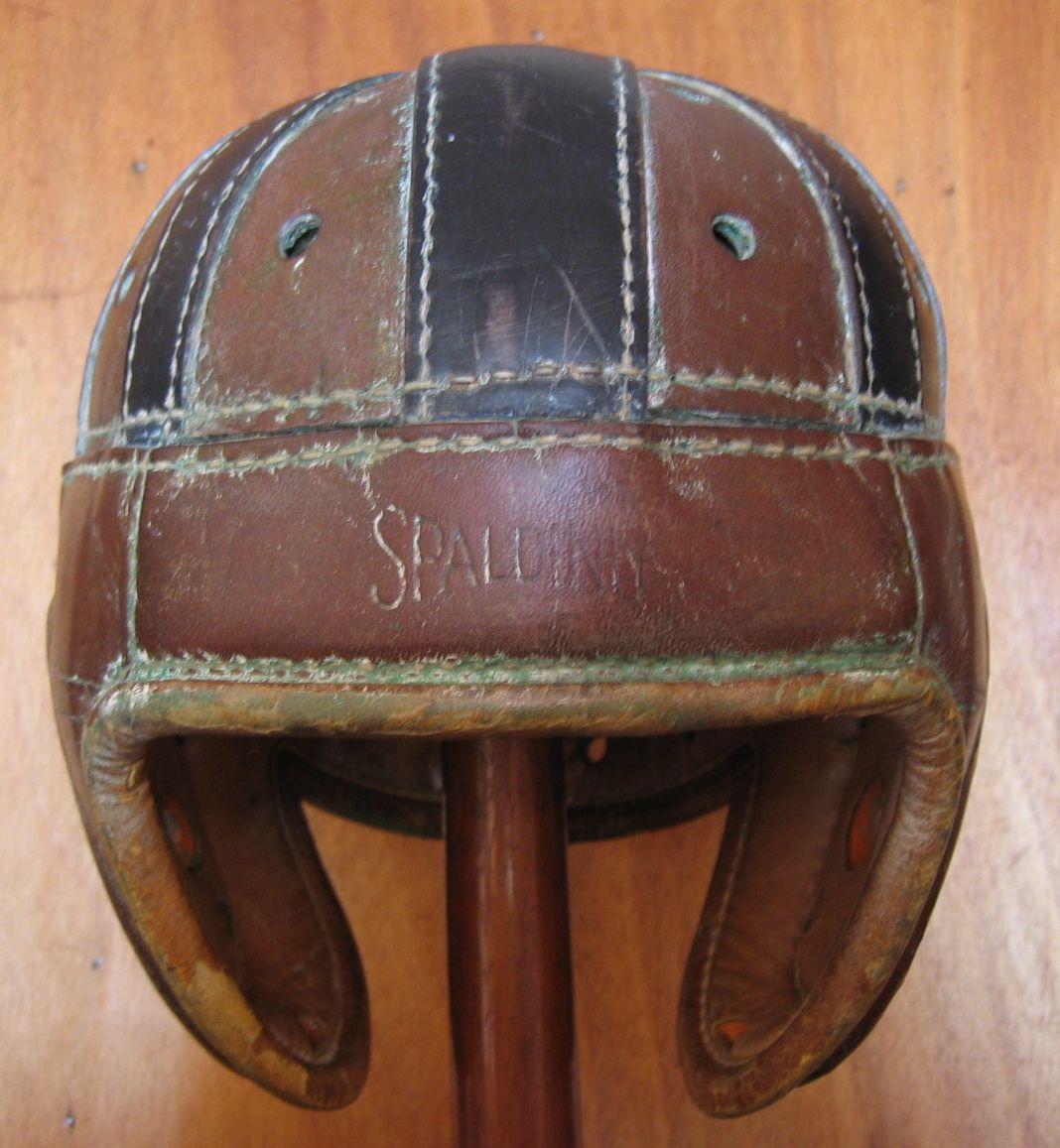 Casco de futbol americano A.G.Spalding & Bros (Estados Unidos) 1930 ...