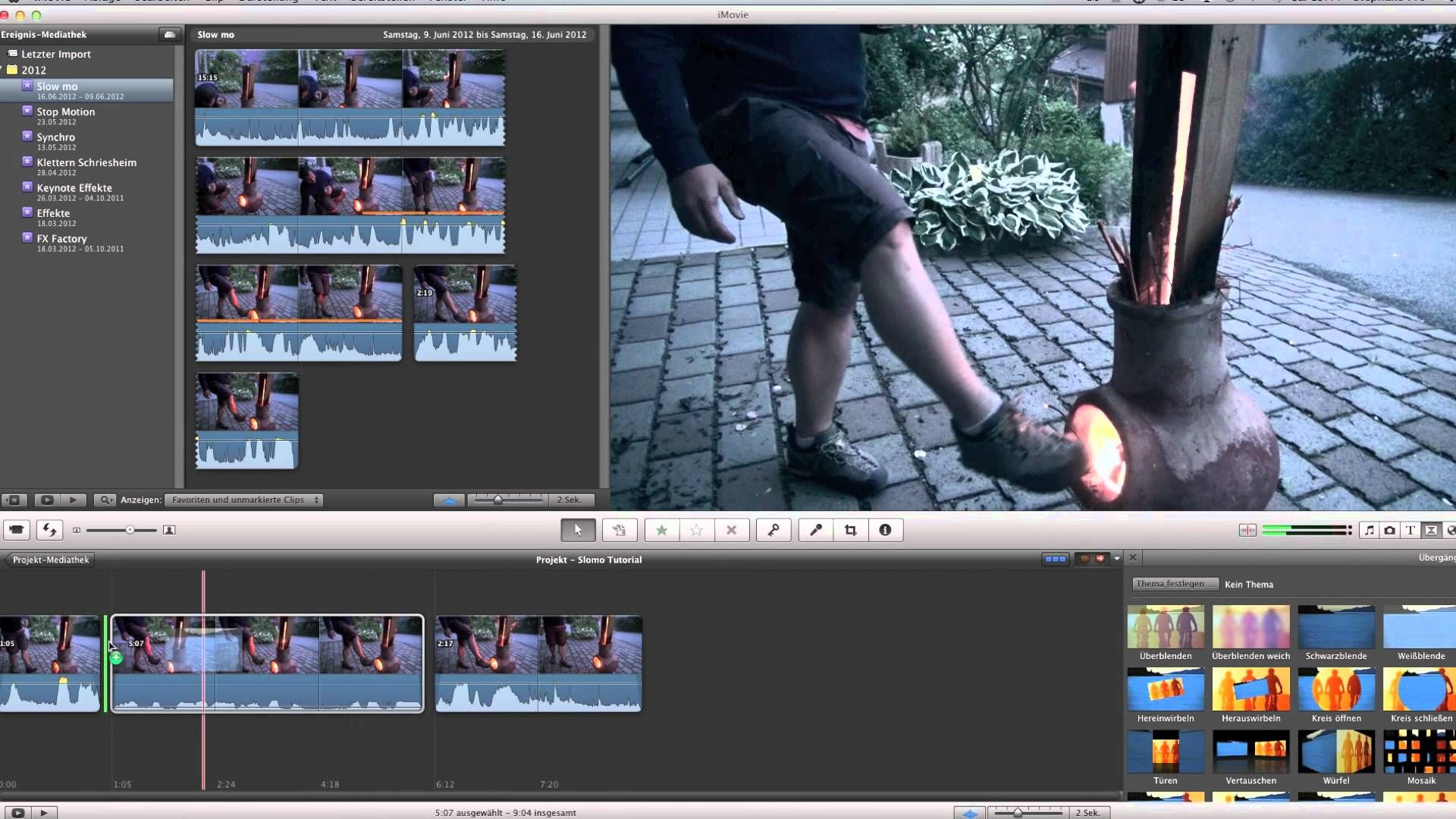 imovie 11 slowmotion tutorial how to create a action movie | digital