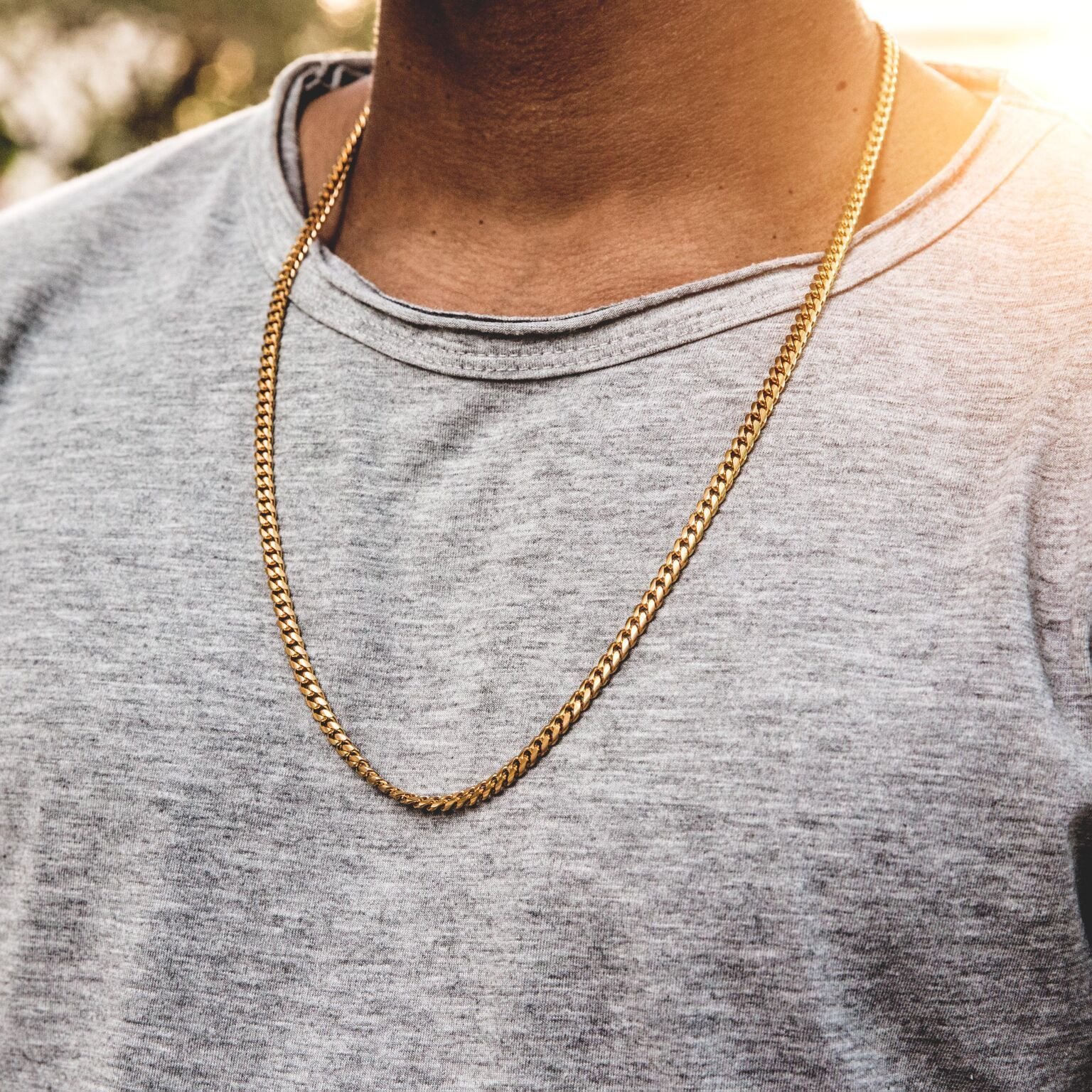 3753a0c9f8c 5mm Miami Cuban Link Chain | Cool shit | Mens gold chain necklace ...