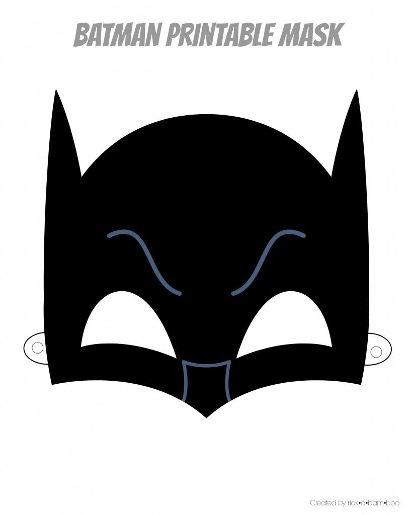 Uncategorized Printable Bat Mask free printable hero masks masons super party pinterest masks