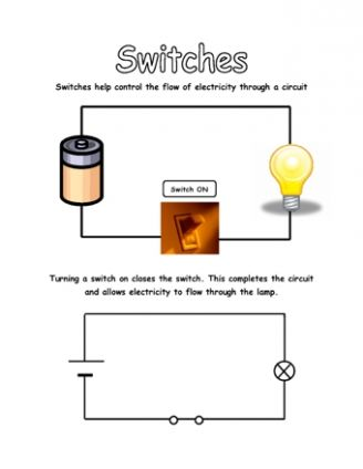 Circuits and Electricity | grade 4 science worksheets ...