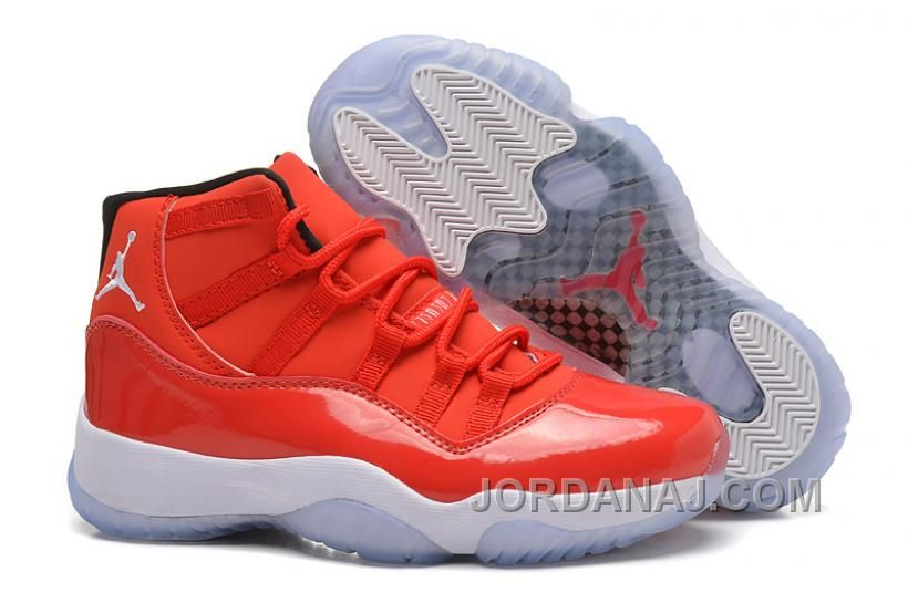 "new concept 0b8de acbc2 Find Girls Air Jordan 11 Retro Carmelo Anthony ""Red"" PE For Sale Super  Deals online or in Pumarihanna. Shop Top Brands and the latest styles Girls  Air ..."