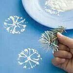 Simple Snowflake art!