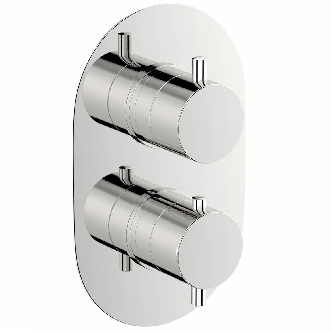Mode Harrison Oval Twin Thermostatic Shower Valve With Images