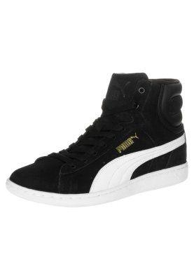 Sneakers Puma VIKKY MID - Sneakers hoog - black-white Zwart ...