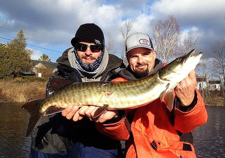 Aaron Jolicoeur Matt Mitchell Waterwolflures Kawarthalakes Kawartha Lakes Tierra Del Fuego Musky