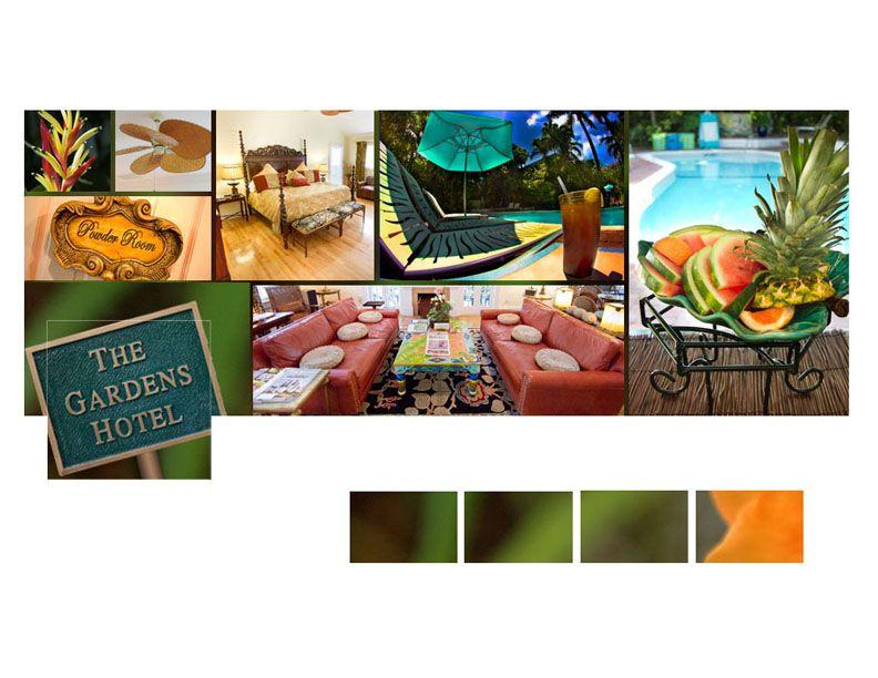 Facebook timeline design by the social media team at FloridaKeys.com for the Gardens Hotel in Key West
