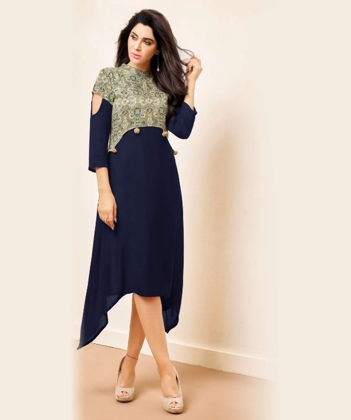 3044eb8a24 Printed Kurtis Wholesale Formal Wear, surat wholesale kurti, surat bulk  supplier, cotton printed kurti design, wholesale supplier from Surat,