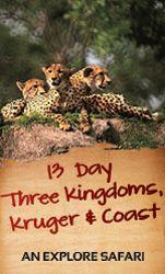13 Day Three Kingdoms, Kruger & Coast - Guided Safari