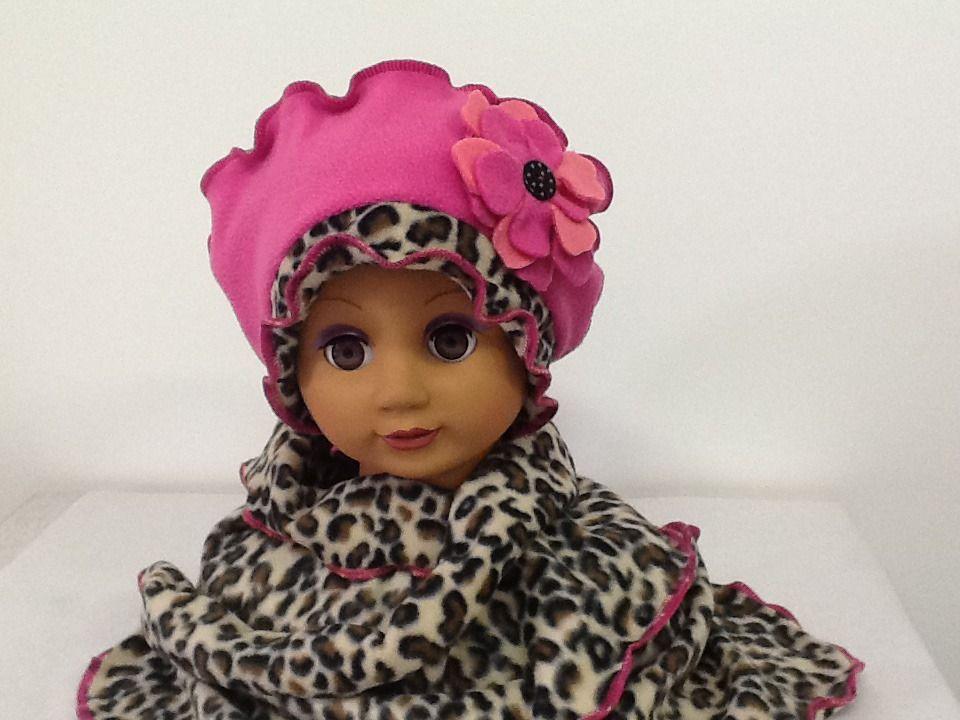 Béret chapeau Bonnet echarpe polaire bébé enfant fille   Mode Bébé par  creation-valerie- 523e7e9bfa9