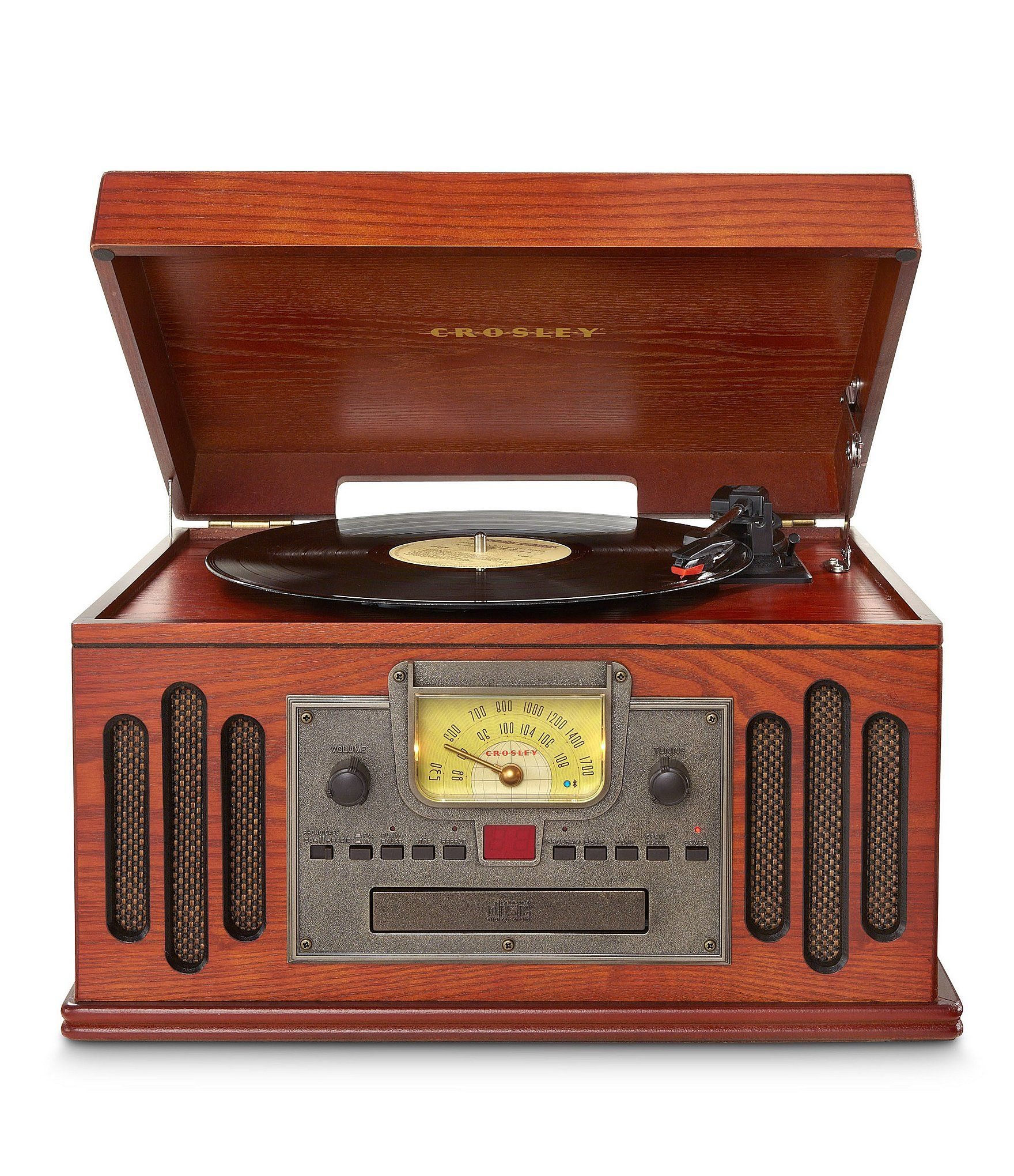 Crosley Musician Turntable Dillard S In 2020 Turntable Crosley Radio Wooden Record Player