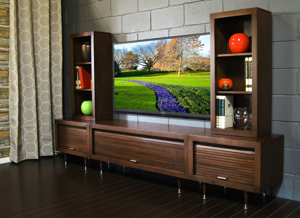 Mid Century Modern Entertainment Center Wall Milano Mocha Modern Entertainment Center Mid Century Modern Diy Entertainment Center