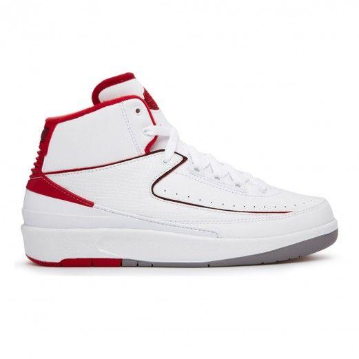 fed0ffcbcea5 Jordan Air Jordan 2 Retro Bg 395718-102 Sneakers — Basketball Shoes at  CrookedTongues.com