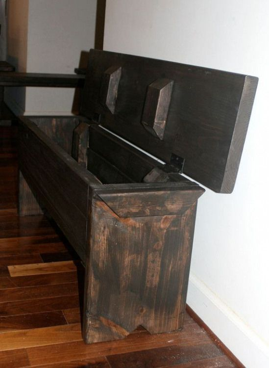 Marvelous 4 Foot Narrow Trunk Bench With Storage By Modernrust On Caraccident5 Cool Chair Designs And Ideas Caraccident5Info