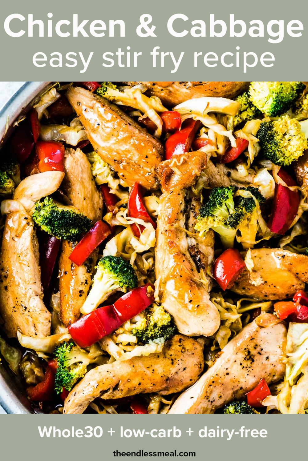 Chicken Cabbage Stir Fry (easy to make!) | The Endless Meal
