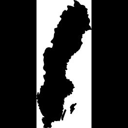 Sweden Silhouette FREE SVG Cricut Pinterest Planet Map - Sweden map svg
