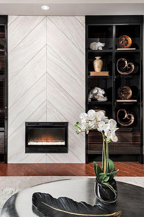 Photo of 10 Contemporary Fireplace Designs   Yvette Craddock Designs – Luxury Interior Design + Tabletop Design + Lifestyle Experiences