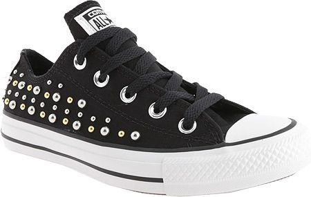 1be2fe83743a Women s Converse Chuck Taylor All Star Core Ox - Black Canvas (Studs)  Canvas Shoes ( 27.95)