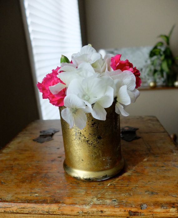 Metallic Reflective Gold Vase Candleholder Candle Holder Wedding Centrepiece Centerpiece Home Decor on Etsy, £5.51