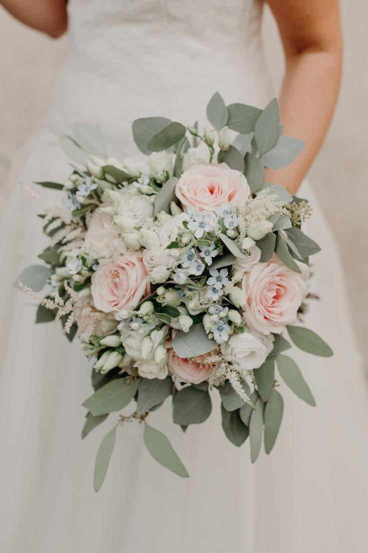 Un matrimonio bucolico e handmade – ideas de flores