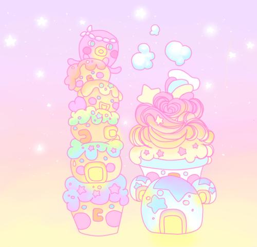Sweet Pastel Homes
