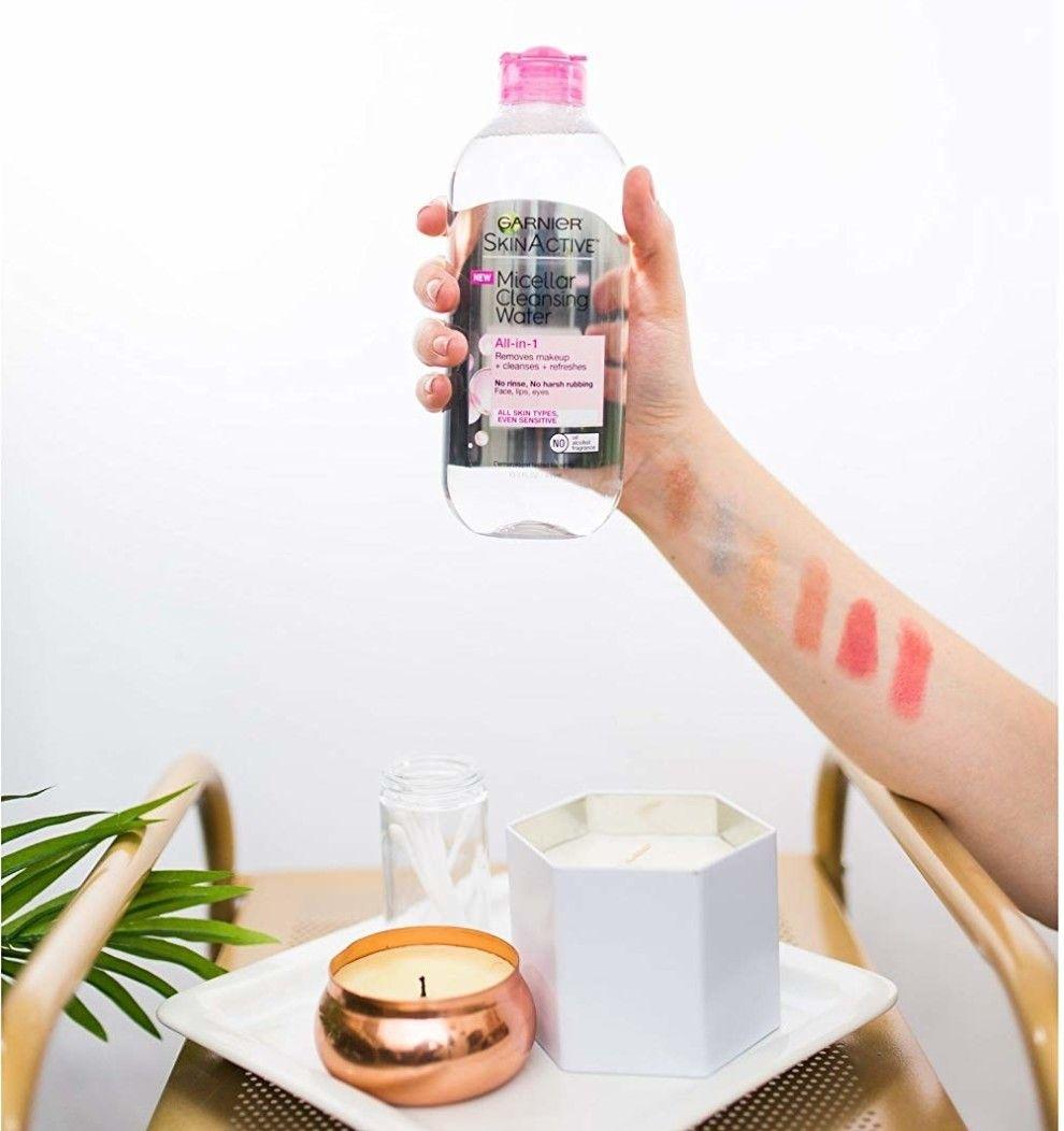 Garnier SkinActive Micellar Cleansing Water has your back