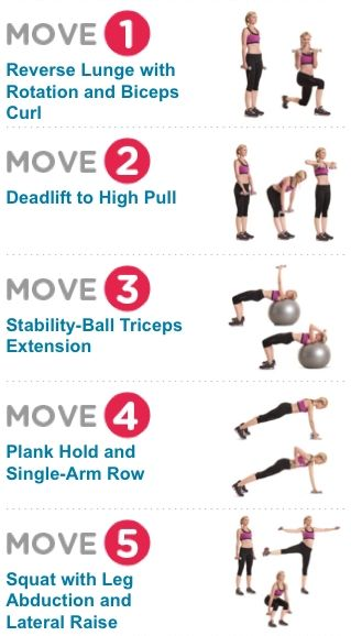 2-in-1 Strength-Training Exercises! Multitask your way to a better bod (5 of 8 moves shown) http://media-cache7.pinterest.com/upload/260434790921389331_tNmsQ7Th_f.jpg womenshealthmag all things fitness