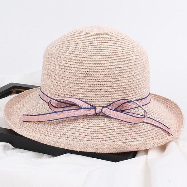 Wide Brim Floppy Straw Sun Hat Beach Women Hat Foldable Summer UV Protect Travel  Cap Ladies Casual C  Hats  WomenAccessories 7d6ef4592673