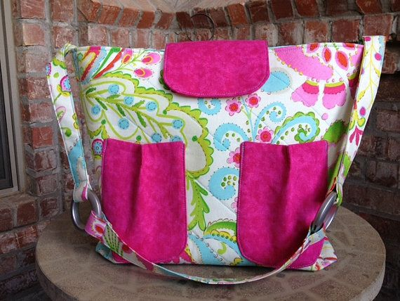 Large Shoulder Purse fo by AlSoBags on Etsy, $52.00