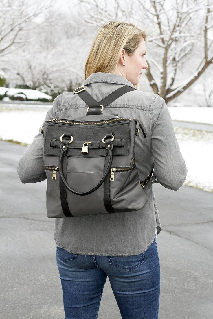 Convertible Backpack Diaper Bag