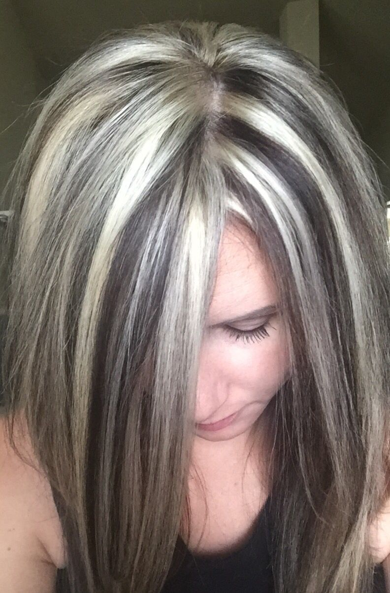 Image result for Grey Hair with Highlights and Lowlights   Styles ...