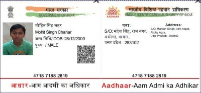 Pin by Mir Moomin on Download | Aadhar card, Cards, Names
