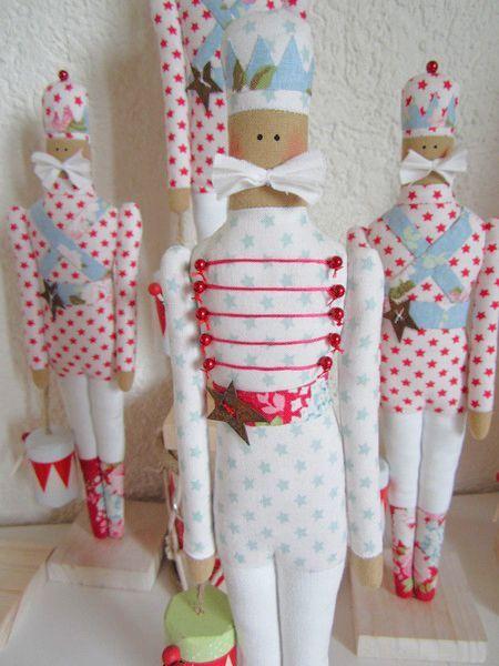 Resultado de imagen para muñecas tilda de navidad