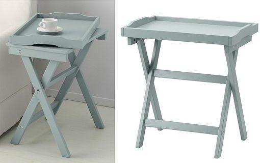 Mesa auxiliar ikea organizar hogar pinterest mesa for Mesa auxiliar plegable ikea