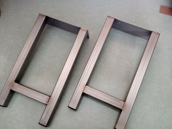 Stainless Steel Legs End Table Industrial Legs Modern Stainleess Steel Legs Dining Bench Legs Set Of 2 Legs Stainless Steel Legs Industrial Legs Steel Legs