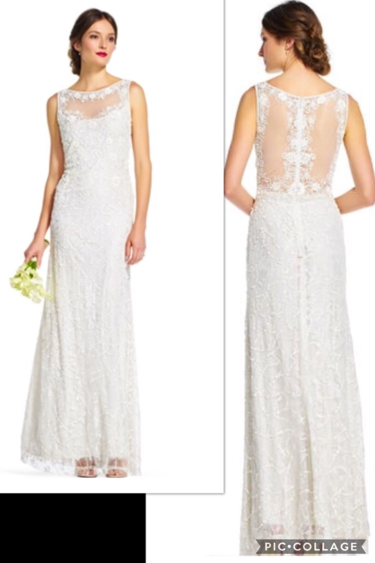 Another PERFECT Bridal Gown at a discounted price. This Adrianna ...